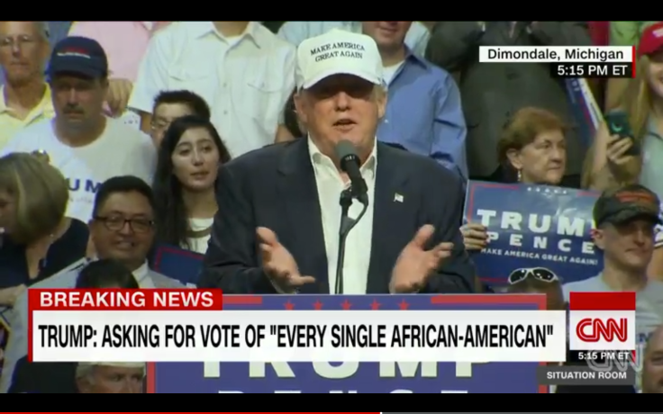 Donald Trump africain americain african american